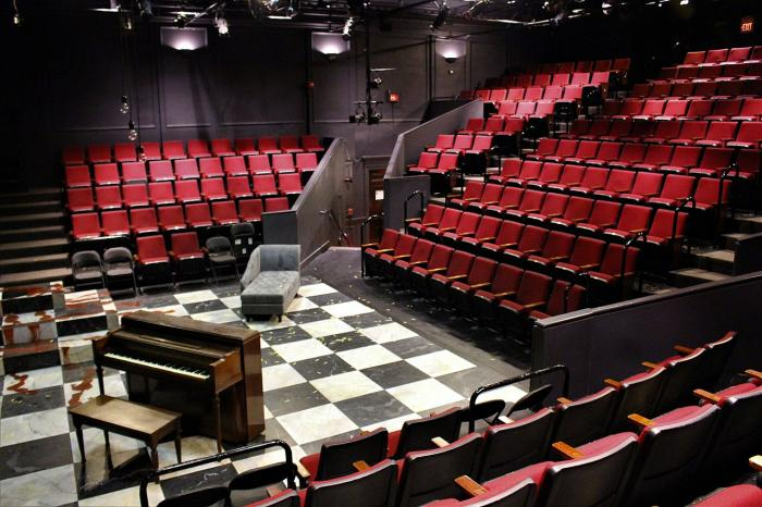 The interior of the Lyric Stage Company of Boston