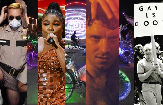 'Reno 911,' Lizzo, Burning Bikes, queer films, 'Cured'