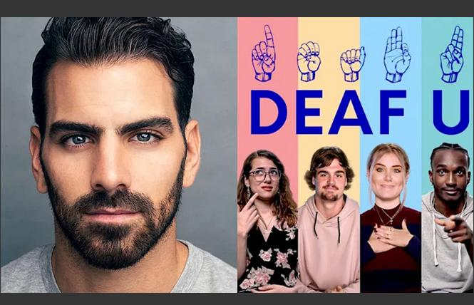 Nyle DiMarco, executive producer for Netflix's 'Deaf U'