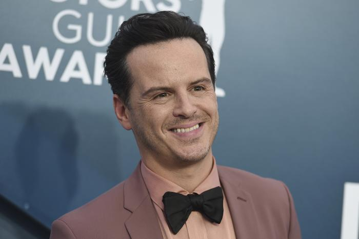 Andrew Scott arrives for the 26th annual Screen Actors Guild Awards at the Shrine Auditorium & Expo Hall in Los Angeles.