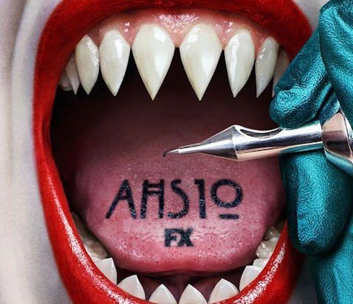 """A poster for """"American Horror Story"""" Season 10."""