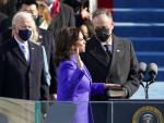 Inauguration Fashion: Purple, Pearls, American Designers